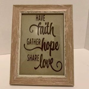 🆕️ Custom printed Inspirational Frame